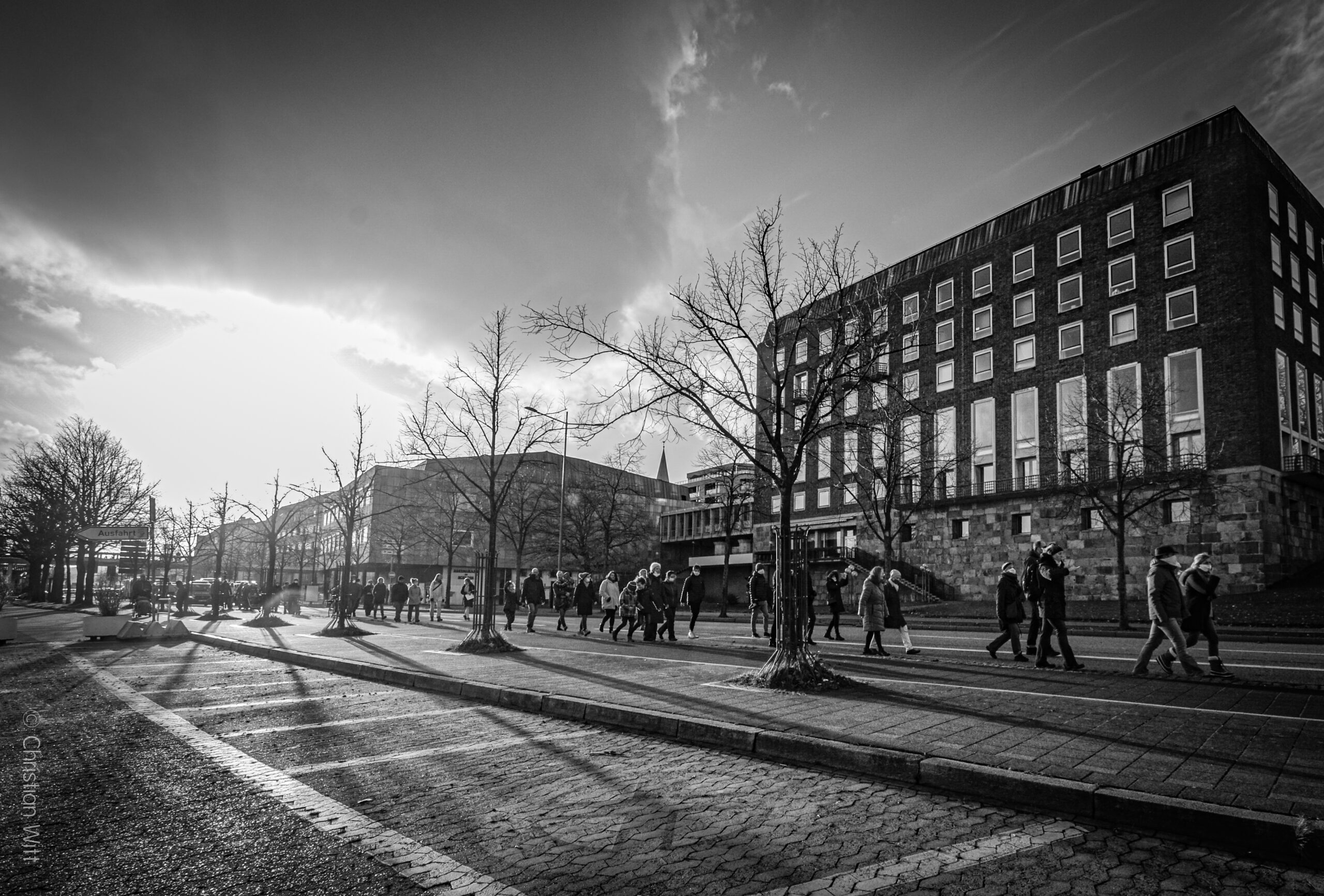 SCHWEIGEMARSCH in Kiel am Ewigkeitssonntag 22.11.2020